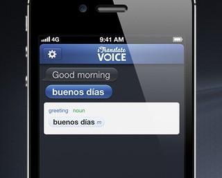Voice Translator – tłumacz z możliwością odtworzenia wymowy