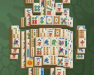 Mahjong chiński pasjans na telefon