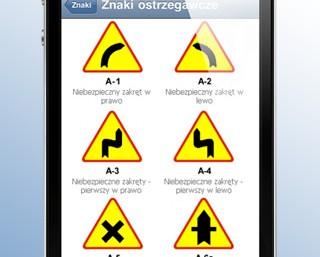 Recenzja edukacyjnej aplikacji Znaki drogowe