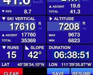 SKI TRACKS – narciarski GPS dla fanów smartfonów