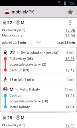 mobileMPK – mobilny rozkład jazdy offline