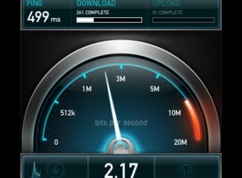 Sprawdź prędkość swojego Internetu