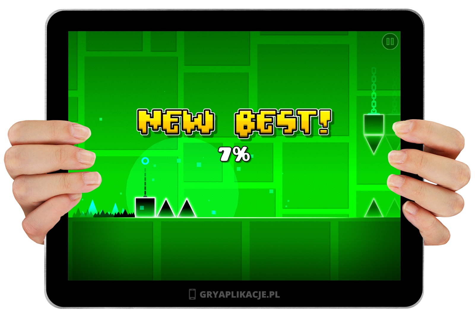Image currently unavailable. Go to www.generator.granthack.com and choose Geometry Dash image, you will be redirect to Geometry Dash Generator site.