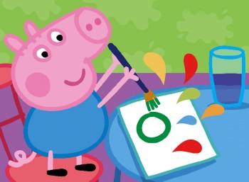 Nauka czytania ze świnką Peppą