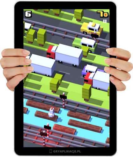 crossy road screen