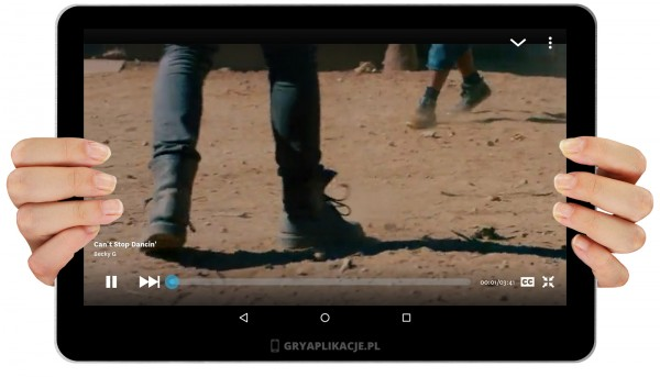 Vevo screen