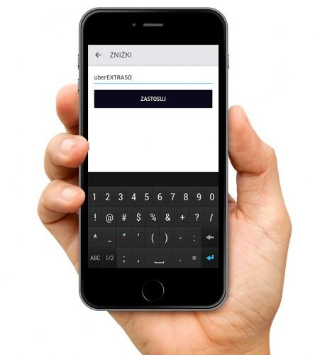 Uber screen