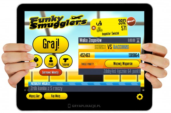 Funky Smugglers screen