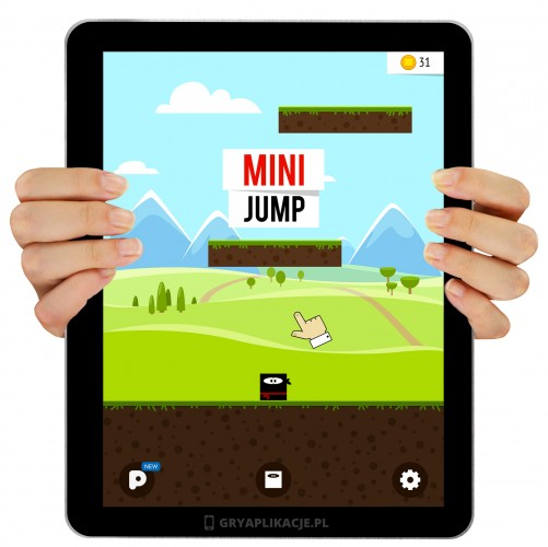mini jump screen