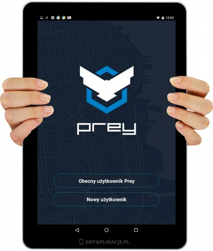 Prey anti Theft screen