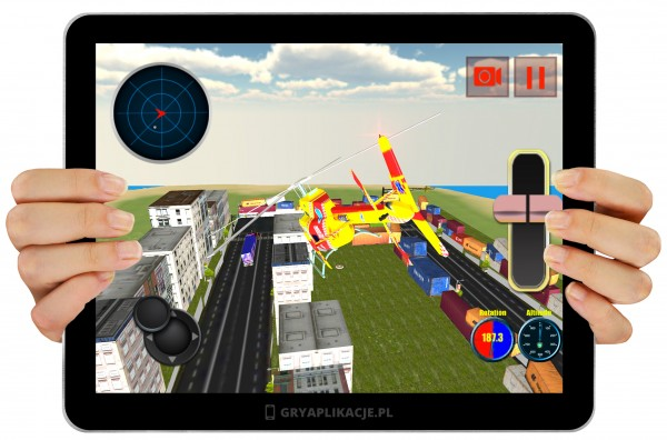 911 City Rescue Helicopter screen