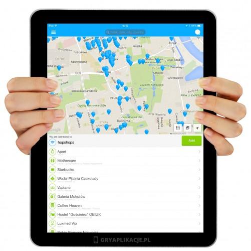 Wifi map screen
