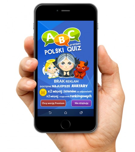 ABC Polski Quiz screen