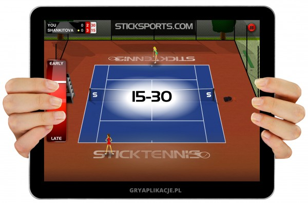 Stick Tennis screen