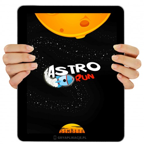 Astro Run screen