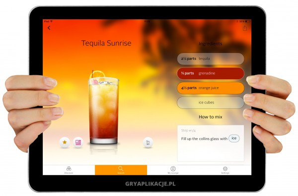 coctail flow screen