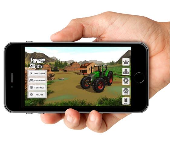 Farmer Sim 2015 screen