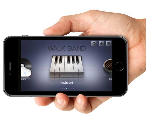 walk band screen