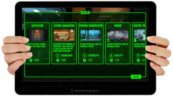 Fallout Shelter screen