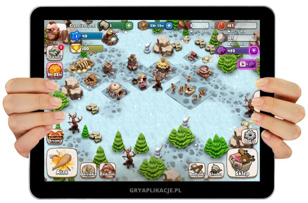 age of caveman - screen