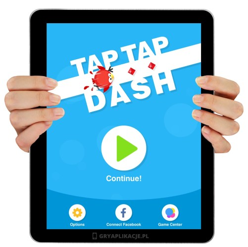 Tap tap dash screen