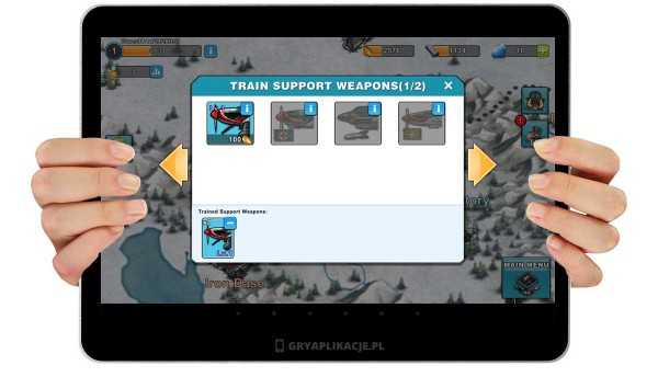 Warfare Nations screen