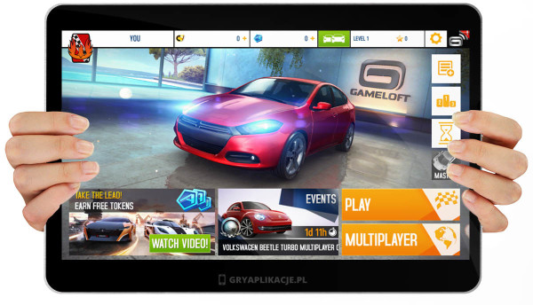 Asphalt 8 screen