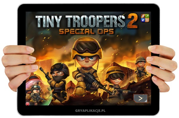 Tiny Troopers 2 screen