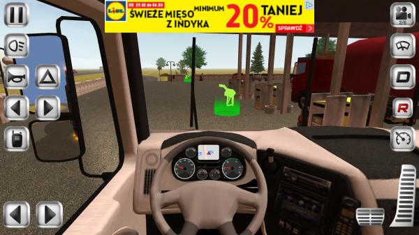 euro truck driver screen