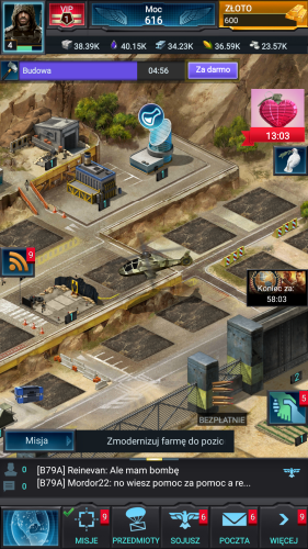 Mobile Strike screen