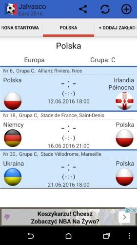 Aplikacja na Euro 2016