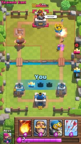 nietypowa gra strategiczna - clash royal