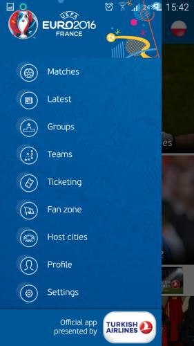 Aplikacja dla kibiców na Euro 2016 - UEFA EURO 2016 Official App