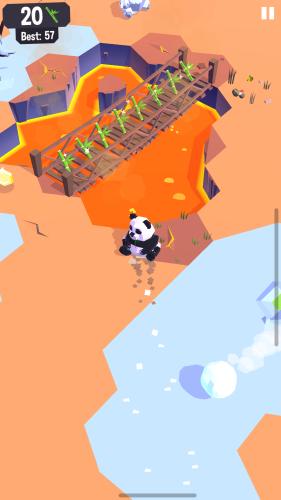 Gra zręcznościowa dla dzieci - Land Sliders