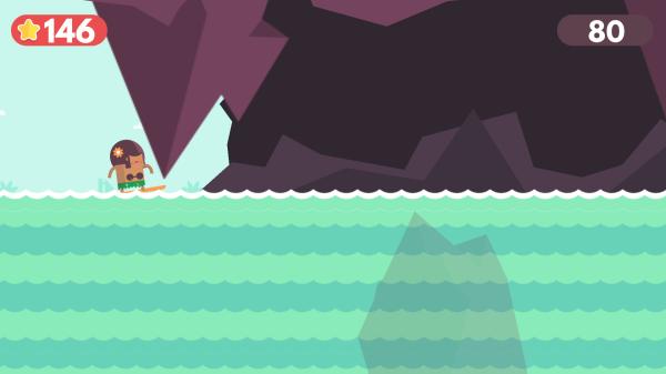 Zręcznościówka z surfingiem w roli głównej - Surfingers