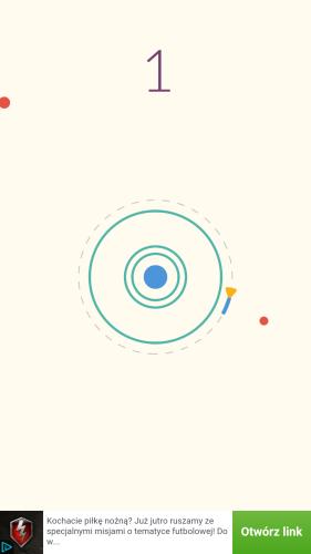 Gra zręcznościowa o znacznym poziomie trudności - Circles