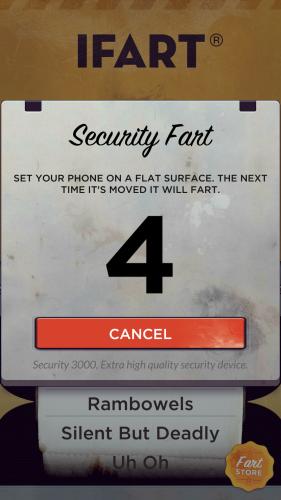Aplikacja dla żartownisiów - iFart Fart Sounds App