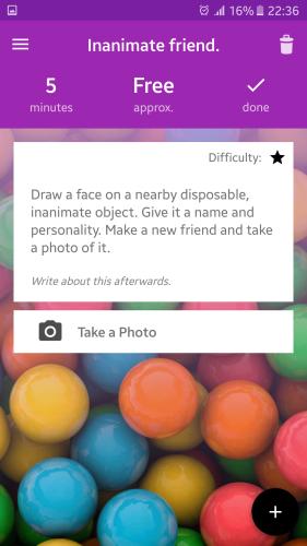 Aplikacja, która podsunie Ci wiele ciekawych pomysłów na spędzenie czasu - Shuffle My Life - Things To Do