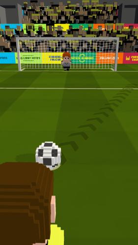 Sportowa gra zręcznościowa - Blocky Soccer