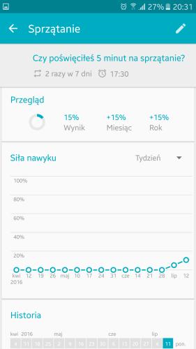 Aplikacja, która pomoże wdrożyć i śledzić dobre nawyki - Śledzenie Nawyków Loop