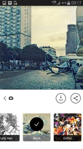 Aplikacja przerabiająca nasze zdjęcia na sposób malarski