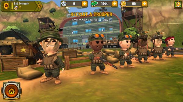 Wciel się w dowódcę i zarządzaj swoją kieszonkową armią - Pocket Troops