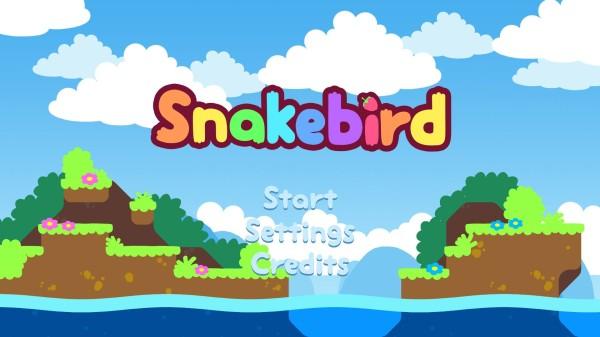 Gra, w której dziwny wąż musi zjadać owoce