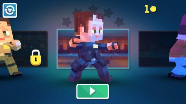 Minecraftowa bijatyka na telefonie