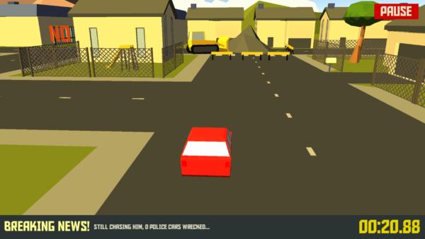 Zręcznościowe wyścigi wymagające nie lada refleksu - Pako - Car Chase Simulator