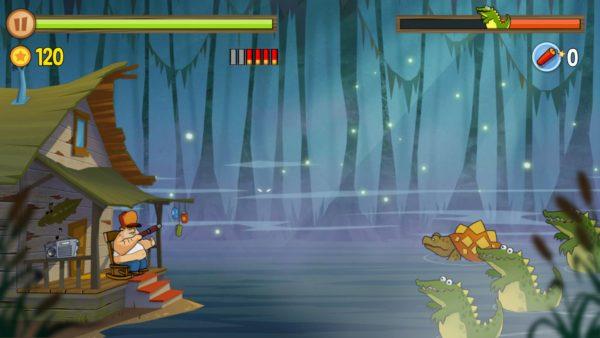 darmowa gra shooter - swamp attack