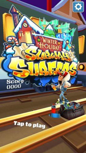 Darmowa gra na telefon - Subway Surfers