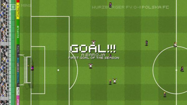 Screen z darmowej gry - Tiki taka soccer