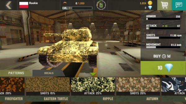 darmowa gra na telefon -War machines