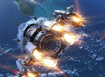 Kosmiczny Top Gun